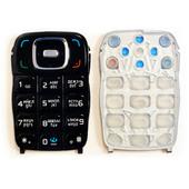 Nokia 6131 Клавиатура набора номера русс./ лат., Black, 9798815 (оригинал)