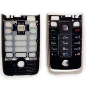Nokia 6600f Клавиатура English, Black/ Silver, 9799135 (оригинал)