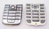Nokia 6233 Клавиатура серебристая, 9799184 (оригинал)