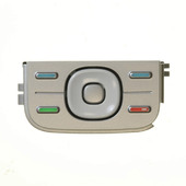 Nokia 5300 Клавиатура функциональная серебристая, 9799251 (оригинал)
