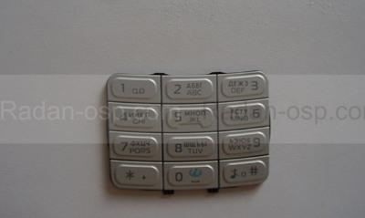 Nokia 5300 Клавиатура основная серебристая, 9799256 (оригинал)