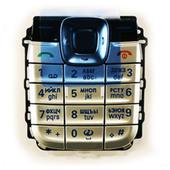 Nokia 2610 Клавиатура серебристая, 9799276 (оригинал)