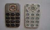 Nokia 6125 Клавиатура серебристая, 9799333 (оригинал)