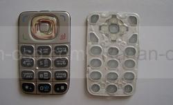 Nokia 6125 Клавиатура серебристая, 9799333 (оригинал), radan-osp.com - оригинальные комплектующие, фото