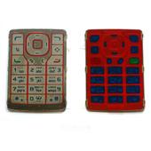 Nokia N76 Клавиатура основная красная, 9799766 (оригинал)