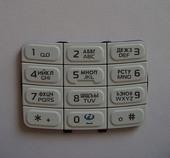Nokia 5200 Клавиатура основная белая, 9799854 (оригинал)