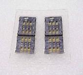 Разъем Nano SIM DUAL Sony Xperia XA Ultra Dual F3212/ Xperia C5 Ultra Dual E5533/ Xperia L2 H4311, A/314-0000-00942 (оригинал)