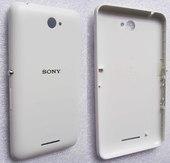 Крышка задняя аккумулятора Sony Xperia E4 dual E2115 (WHITE), A/405-58800-0002 (оригинал)