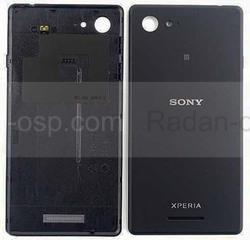 Крышка аккумулятора Sony Xperia E3 D2202/ D2203/ D2206 (Black), A/405-59080-0002 (оригинал), radan-osp.com - оригинальные комплектующие, фото