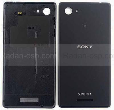 Крышка аккумулятора Sony Xperia E3 D2202/ D2203/ D2206 (Black), A/405-59080-0002 (оригинал)