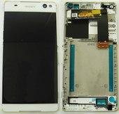 Дисплей с сенсором Sony Xperia C5 Ultra Dual E5533/ E5553/ E5506/ E5563 (White), A/8CS-58880-0002 (оригинал)