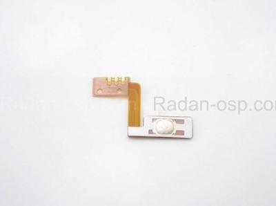 Samsung C6712 Кнопка боковая (шлейф с мембраной), GH59-10787A (оригинал)