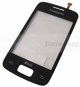 Samsung S6102 Galaxy Y Duos Сенсорная панель черная, GH59-11958A (оригинал)
