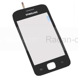 Samsung S6802 Galaxy Ace Duos Сенсорная панель черная, GH59-12322A (оригинал), radan-osp.com - оригинальные комплектующие, фото