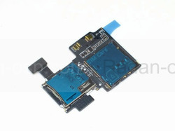 Samsung I9500 Galaxy S4 Разъем sim-карты и microsd, GH59-13076A (оригинал), radan-osp.com - оригинальные комплектующие, фото