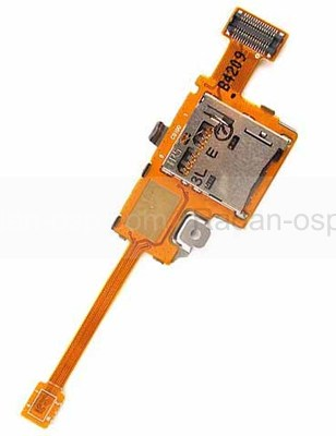 Разъем microSD карты Samsung Galaxy Tab Pro 12.2 T900, GH59-13659A (оригинал)