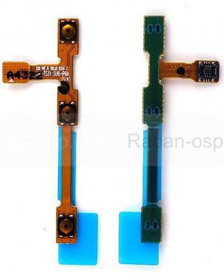 Шлейф боковых кнопок Samsung T530 Galaxy Tab 4/ T531 Galaxy Tab 4, GH59-13977A (оригинал)