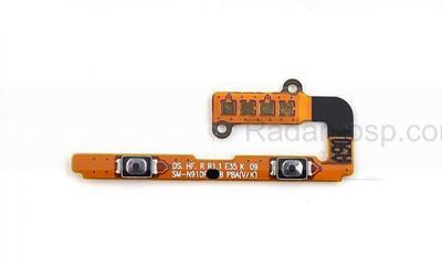 Шлейф с кнопками громкости Samsung N910C/ N910H, GH59-14178A (оригинал)