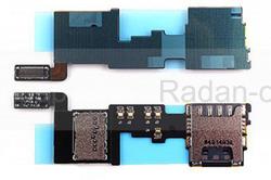 Считыватель SIM/ SD карты Samsung N910C/ N910H, GH59-14179A (оригинал), radan-osp.com - оригинальные комплектующие, фото