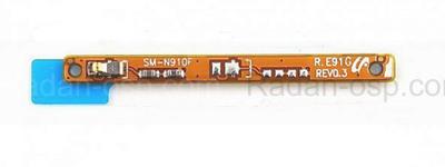 Шлейф боковой (B) Samsung N910C/ N910H, GH59-14238A (оригинал)