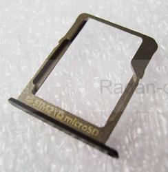 Держатель SIM и SD карт Samsung A300H/ A500H/ A700H (Black), GH61-08009B (оригинал), radan-osp.com - оригинальные комплектующие, фото