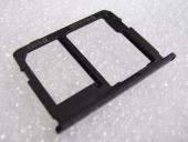 Держатель SIM и карты памяти Samsung SM-G570F Galaxy J5 Prime Black, GH63-13393C (оригинал)