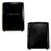 Samsung J600 Крышка батарейная (аккумуляторная), black, GH72-39058F (оригинал)