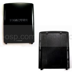 Samsung J600 Крышка батарейная (аккумуляторная), black, GH72-39058F (оригинал), radan-osp.com - оригинальные комплектующие, фото