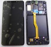 Дисплей с сенсором Samsung Galaxy A9 (2018) A920 (Black) Super AMOLED, GH82-18308A оригинал