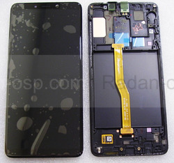 Дисплей с сенсором Samsung Galaxy A9 (2018) A920 (Black) Super AMOLED, GH82-18308A оригинал, radan-osp.com - оригинальные комплектующие, фото