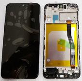 Дисплей с сенсором (экран) Samsung Galaxy M20 M205F (SM-M205) Black, GH82-18682A/ GH82-18743A (оригинал)