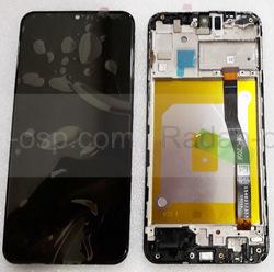Дисплей с сенсором (экран) Samsung Galaxy M20 M205F (SM-M205) Black, GH82-18682A/ GH82-18743A (оригинал), radan-osp.com - оригинальные комплектующие, фото