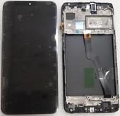 Дисплей с сенсором Samsung Galaxy M10 M105 Black с рамкой, GH82-18685A (сервисный оригинал)