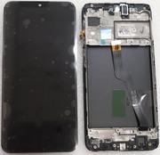 Дисплей з сенсором Samsung Galaxy M10 M105 Black з рамкою, GH82-18685A (сервісний оригінал)