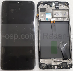 Дисплей с сенсором Samsung Galaxy M10 M105 Black с рамкой, GH82-18685A (сервисный оригинал), radan-osp.com - оригинальные комплектующие, фото