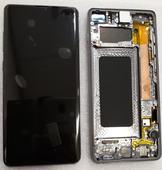 Дисплей экран Samsung Galaxy S10+/Plus G975F Black (Dynamic AMOLED), GH82-18849A (сервисный оригинал)