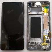 Дисплей екран Samsung Galaxy S10 G973F Black (Dynamic AMOLED), GH82-18835A, GH82-18850A (сервісний оригінал)