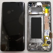 Дисплей экран Samsung Galaxy S10 G973F Black (Dynamic AMOLED), GH82-18835A, GH82-18850A (сервисный оригинал)