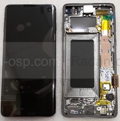 Дисплей экран Samsung Galaxy S10 G973F Black (Dynamic AMOLED), GH82-18835A, GH82-18850A (сервисный оригинал), radan-osp.com - оригинальные комплектующие, фото