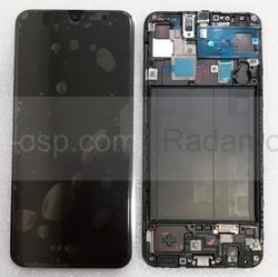 Дисплей с сенсором (экран) Samsung Galaxy A30 A305 (A305F, A305FN) Super AMOLED Black/White/Blue, GH82-19202A (оригинал), radan-osp.com - оригинальные комплектующие, фото