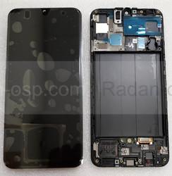 Дисплей с сенсором (экран) Samsung Galaxy A50 A505 (A505F, A505FN) Super AMOLED Black/White/Blue, GH82-19204A (оригинал), radan-osp.com - оригинальные комплектующие, фото