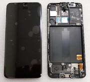 Дисплей с сенсором (экран) Samsung Galaxy A40 A405 (A405F, A405FN) Super AMOLED Black/Blue/Coral/Red, GH82-19672A (оригинал)