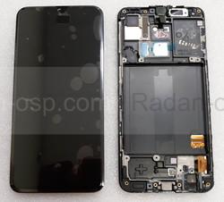 Дисплей с сенсором (экран) Samsung Galaxy A40 A405 (A405F, A405FN) Super AMOLED Black/Blue/Coral, GH82-19672A (оригинал), radan-osp.com - оригинальные комплектующие, фото