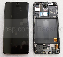 Дисплей с сенсором (экран) Samsung Galaxy A40 A405 (A405F, A405FN) Super AMOLED Black/Blue/Coral/Red, GH82-19672A (оригинал), radan-osp.com - оригинальные комплектующие, фото