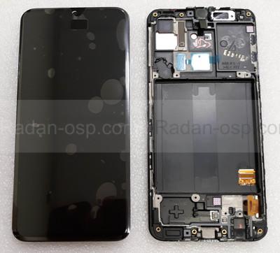Дисплей с сенсором (экран) Samsung Galaxy A40 A405 (A405F, A405FN) Super AMOLED Black/Blue/Coral, GH82-19672A (оригинал)