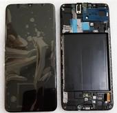 Дисплей с сенсором (экран) Samsung Galaxy A70 A705 (A705F, A705FN) Super AMOLED Black/Blue, GH82-19747A/ GH82-19787A (оригинал)