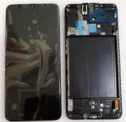 Дисплей з сенсором (екран) Samsung Galaxy A70 A705 (A705F, A705FN) Super AMOLED Black/ Blue, GH82-19747A/ GH82-19787A (оригінал)