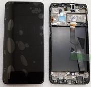 Дисплей с сенсором (экран) Samsung Galaxy A10 A105 (A105F, A105FN) Black/Blue/Red, GH82-20227A/ GH82-19367A (оригинал)