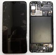 Дисплей екран Samsung Galaxy A30s A307/ A307F Black/ Green/ White Super AMOLED, GH82-21190A (сервісний оригінал)