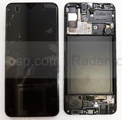 Дисплей экран Samsung Galaxy A30s A307/ A307F Black/Green/White Super AMOLED, GH82-21190A (сервисный оригинал), radan-osp.com - оригинальные комплектующие, фото